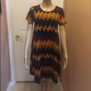 LulaRoe Carly Dress size XXS (see sizing chart)